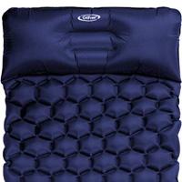 【G4Free】G4Free ウルトラライト キャンピング エアー マット 簡易 軽量 二重バルブ 寝袋 旅行マット 枕 ピロー付 マット 防水 仮眠 キャンプ  ビーチ 収納 コンパクト 室内 室外 アウトドア  G4Free Ultralight Sleeping Pad Inflatable Camping Mat