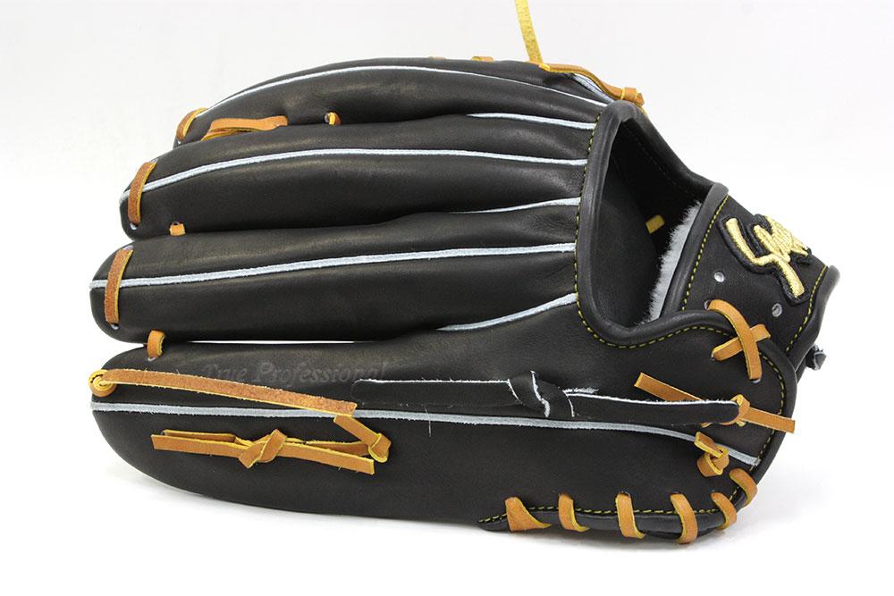久保田スラッガー KSG-SPX ブラック 硬式外野手用グラブ 名手大和基本モデル 深めのポケットと丸みのある背面がGOOD 【グローブ 野球 硬式 型付け無料 高校野球対応】