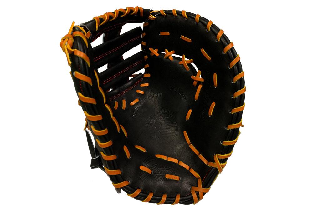 久保田スラッガー 硬式 ファーストミット FP-34 ブラック 高校野球対応 一般用 学生用 プレゼント 野球用品 GTK キャッシュレス5%還元