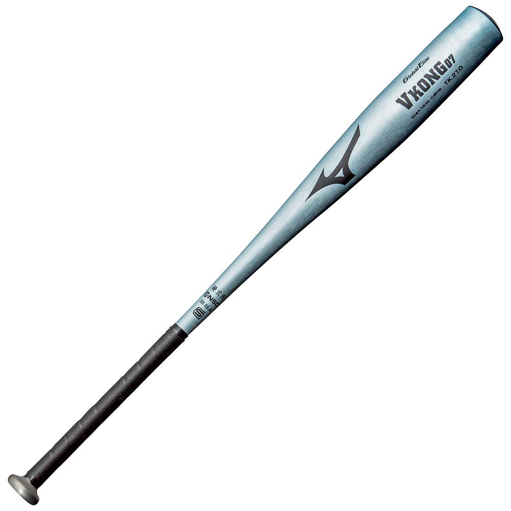 ミズノ 高校硬式金属バット1CJMH108 グローバルエリート 83cm/84cm/900g以上 一般・高校野球用バット Vコング07(金属製)【GTK】【野球用品 硬式 野球バット】