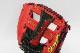 久保田スラッガー 軟式 グローブ オーダー 24MS W-41 レッド×ブラック K9ラベル 指アテ無し 二遊間向け G野球 軟式 社会人 誕生日 プレゼント G20062634WuTvx