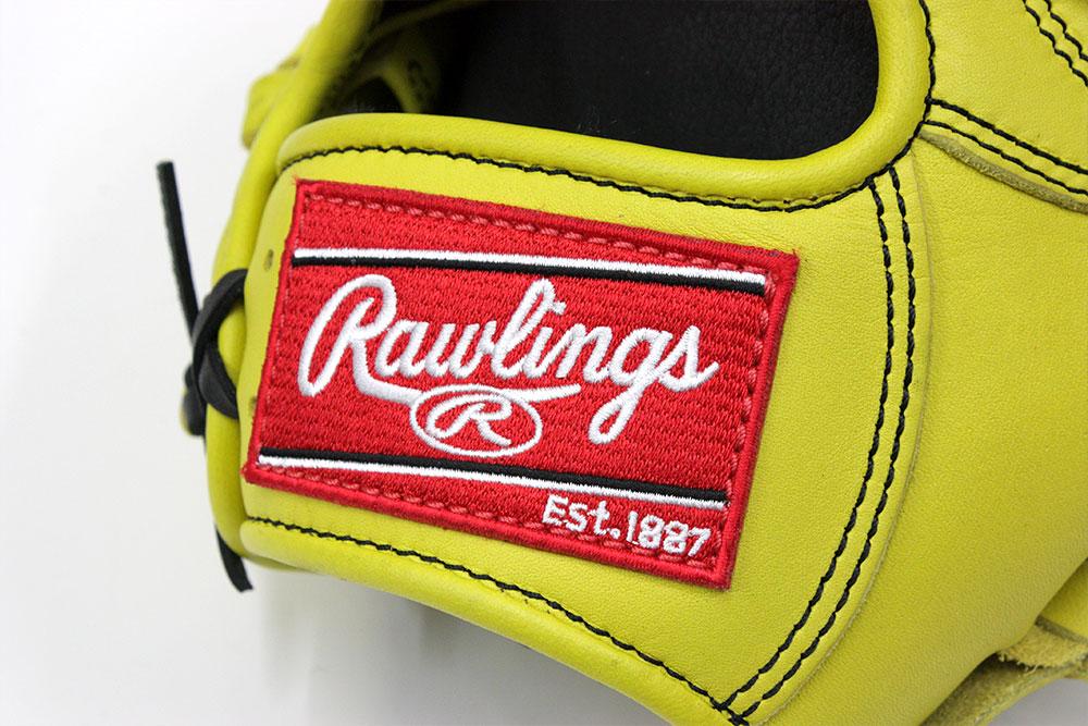 ローリングス GR8HD56 ライムイエロー 右投げ用 学生野球対応 HOH DPシリーズ 軟式グラブ/グローブ オールラウンド用 サイズ11.75