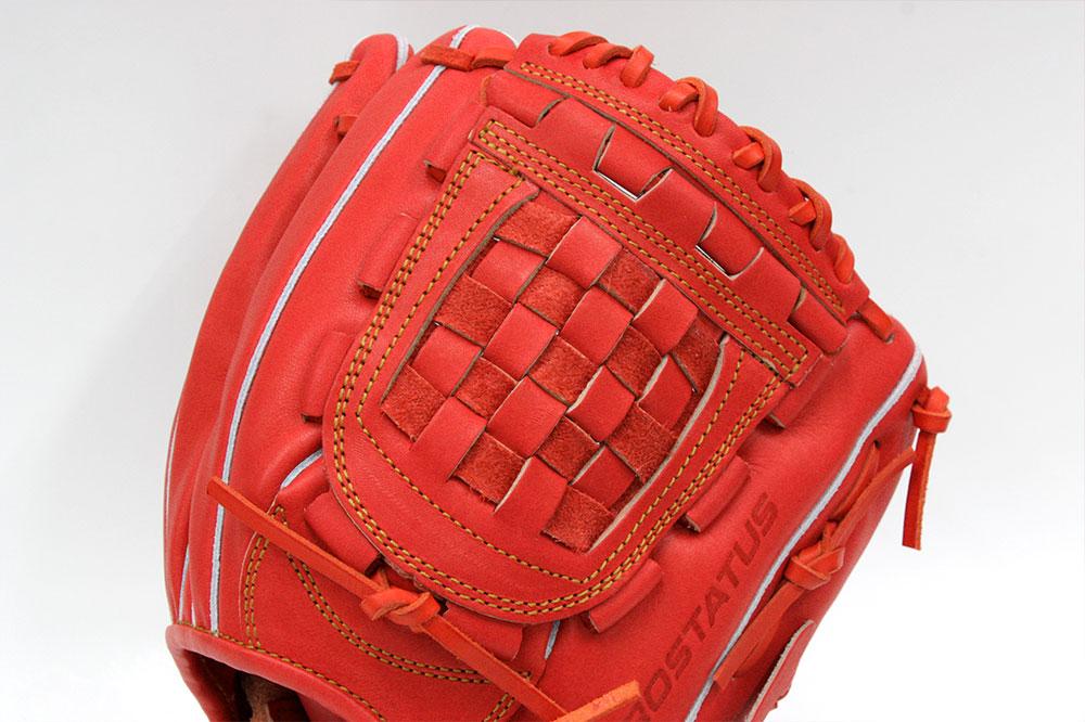 送料無料 ゼット プロステイタス BRGB30050 名手源田モデル ディープオレンジ(5800)一般軟式用 ショート用グラブ サイズ4 革質最高のゼットをおすすめします  野球用品 軟式 野球グローブ キャッシュレス5%還元