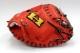 送料無料 ハイゴールド NPC-100-F Fオレンジ×ブラック紐 右投げ用 激安なのに高品質な硬式用キャッチャーミット 限定品 グローブ 野球 硬式 型付け無料 高校野球対応