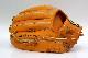 久保田スラッガー 硬式グローブ 二遊間用 KSG-23MS DPオレンジ 一般硬式用グラブ 24MSの1cmカット版