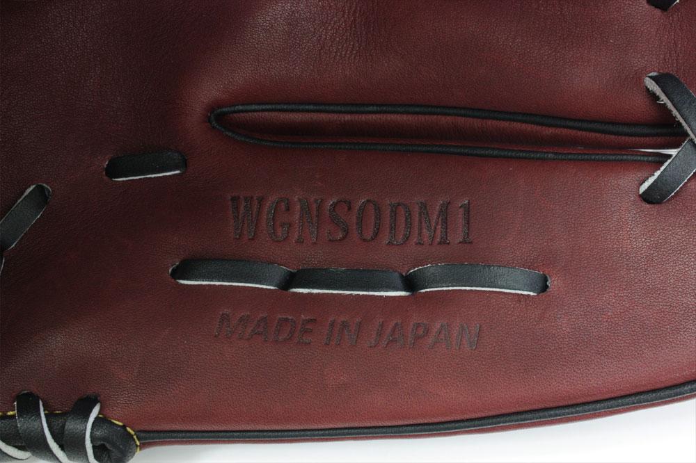 送料無料 ワールドペガサス DMモデル 軟式用グローブ WGNSODM1-3190 シェリーブラウン×ブラック 投手用 一般用
