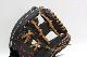 ローリングス GR8HD44 ブラック 右投げ用 学生野球対応 HOH DPシリーズ 軟式グラブ/グローブ 内野手用 サイズ11.25