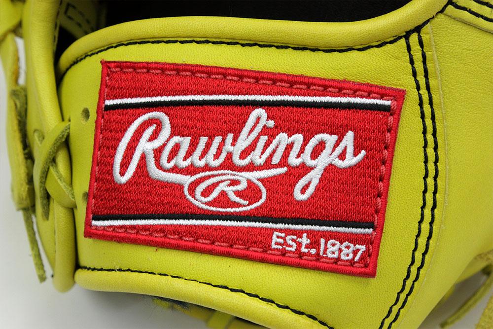 ローリングス GR8HD15 ライムイエロー 右投げ用 学生野球対応 HOH DPシリーズ 軟式グラブ/グローブ 投手用 サイズ12