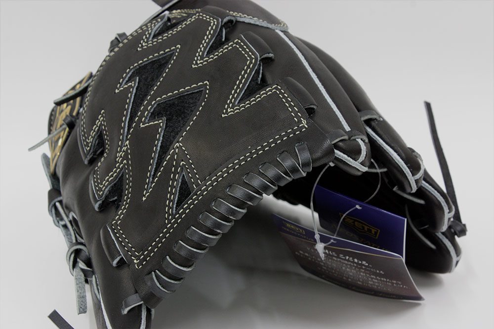 送料無料 ゼット ネオステイタス BRGB31011 ブラック 一般軟式用 投手用グラブ サイズ4 革質最高のゼットをおすすめします  野球用品 軟式 野球グローブ キャッシュレス5%還元