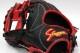 久保田スラッガー ソフトボール グローブ LT18-GS1 KSS-6 ☆左投げ用☆ ブラック×レッド×ブラック紐 W-29 一般ソフトボール用グラブ 内野手向け 展示会限定モデル