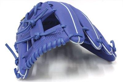 ゼット デュアルキャッチ BRGB34920 ブルー 一般軟式用グラブ 内野手用 サイズ4 コスパ最高です