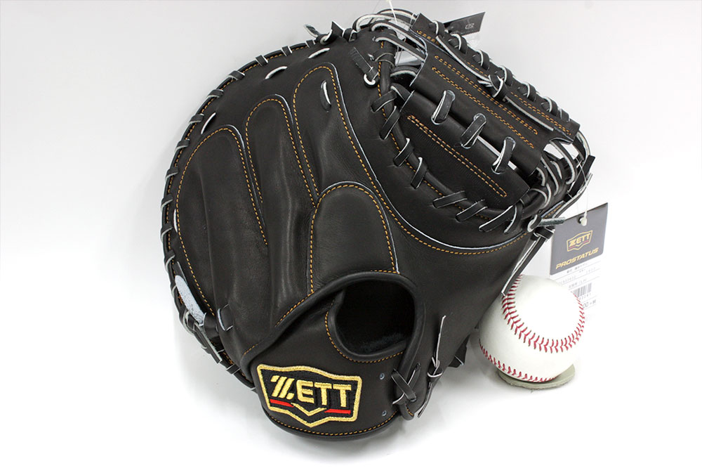 送料無料 ゼット プロステイタス BRCB30932 一般軟式用 キャッチャーミット 革質最高のゼットをおすすめします 野球用品 軟式 野球グローブ