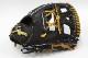送料無料 久保田スラッガー 硬式グローブ 内野手 KSG-AR3 ブラック 二遊間向け 高校野球対応