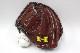 送料無料 ハイゴールド NPC-130 レッドブラウン×ブラック紐 ☆左投げ用☆ 激安なのに高品質な硬式用キャッチャーミット 限定品 高校野球対応