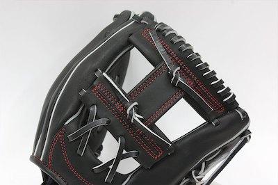 ゼット ネオステイタス BPGB18810 右投げ用 ブラック 一般硬式用 二遊間用グラブ/グローブ サイズ2 革質最高 ナナメラベル