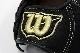 ウィルソン WTARDR5LF ブラック 右投げ用 一般軟式グラブ/グローブ オールラウンド用 サイズ8 型付け券1枚とランドリー袋1枚プレゼント