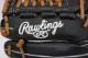 ローリングス GR9HTCN62 ブラック 右投げ用 ハイパーテックDP 軟式グラブ/グローブ オールラウンド用 サイズ11.25 2019年モデル【M号軟式ボール対応グラブ】