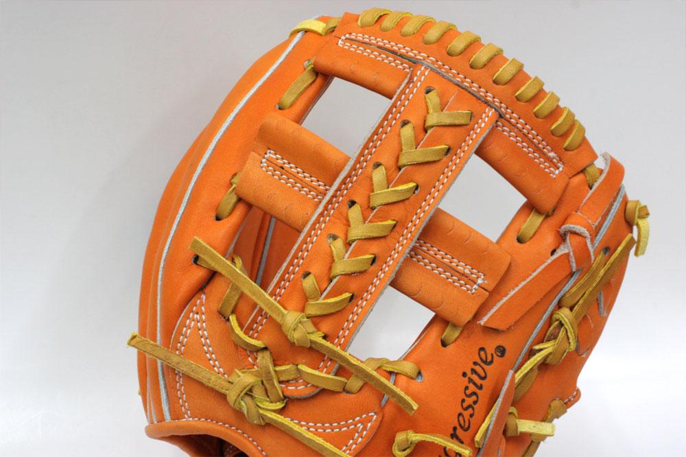 送料無料 久保田スラッガー 硬式グローブ 内野手 KSG-T9 DPオレンジ ショート向け 高校野球対応 一般用 学生用 プレゼント