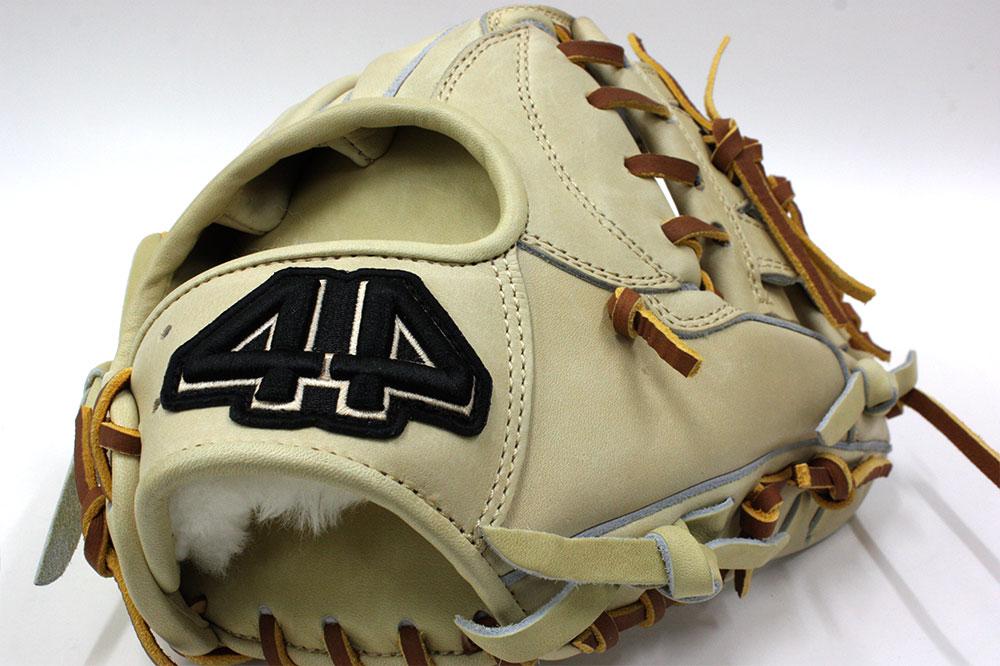 送料無料 44 フォーティーフォー 硬式軟式兼用グラブ 44-T6-2 ブロンド 内野手用 11.5インチ 高校野球対応 学生野球対応
