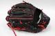 送料無料 44 フォーティーフォー 硬式軟式兼用グラブ 44-CR11 ブラック レインボーステッチ 内野手用 11.5インチ