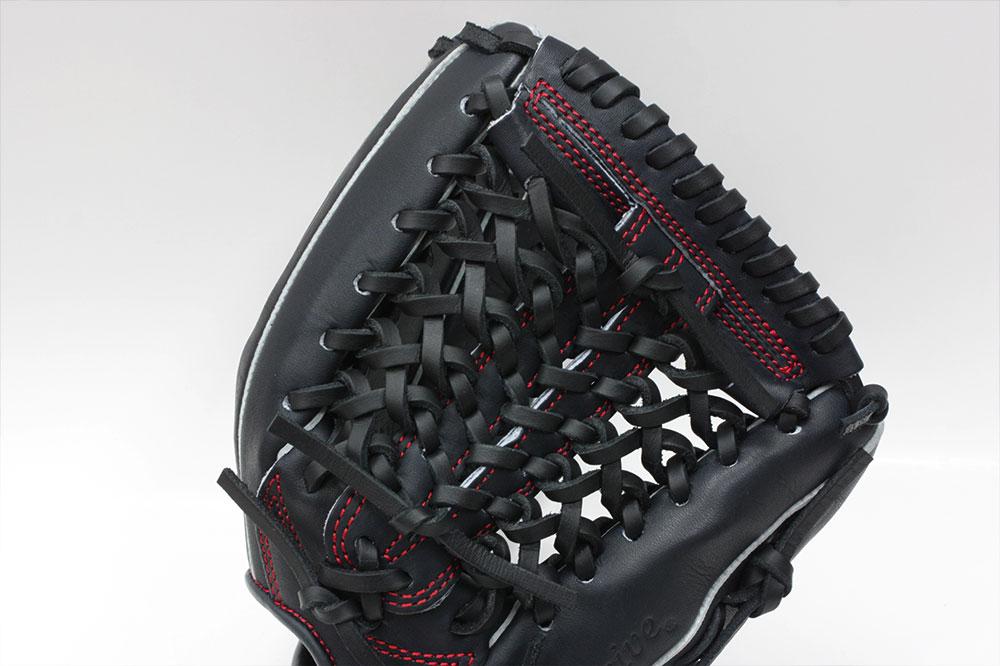 送料無料 久保田スラッガー 限定商品 少年野球 軟式グローブ LT19-GS3 KSブラック KSN-J6V型 W-17 ジュニア用では中間サイズ J号球対応
