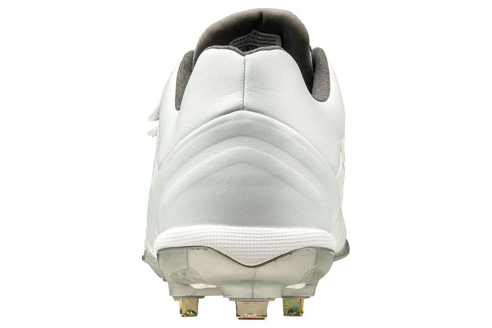 ミズノグローバルエリート GEトライブ QS BLT 高校野球対応埋め込みスパイク 11GM191501 25.0cm〜29.0cm 30.0cm ホワイト 学生野球の超定番モデル