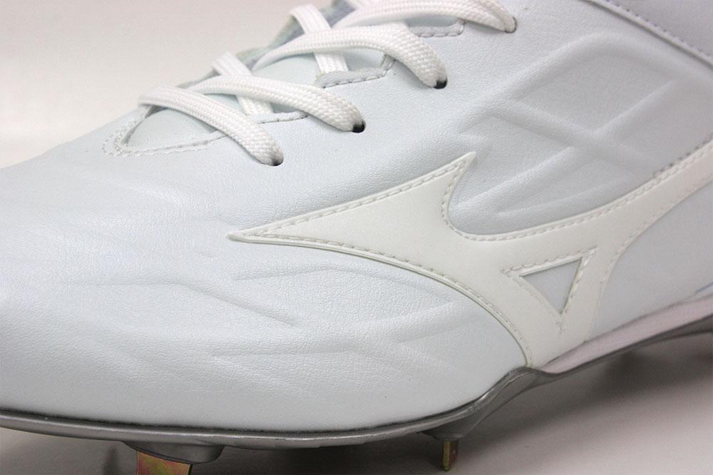 ミズノグローバルエリート GEトライブ QS 高校野球対応埋め込みスパイク 11GM191501 25.0cm〜29.0cm 30.0cm ホワイト 学生野球の超定番モデル