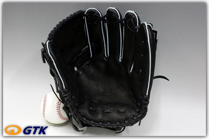 久保田スラッガー KSN-K65 ブラック  一般軟式用グラブ 投手用 24PSと同じポケット【グローブ 野球 軟式 型付け無料 GTK】