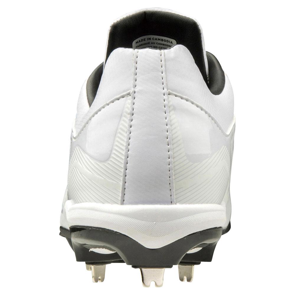 ミズノプライムバディ WT 高校野球対応埋め込みスパイク 11GM192001 23.0cm〜29.0cm ホワイト 学生野球の超定番モデル