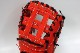 送料無料 久保田スラッガー 硬式 ファーストミット FP-35 CRオレンジ 高校野球対応 甲子園 一般用 学生用 プレゼント 野球用品 GTK キャッシュレス5%還元