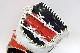 型付け券・ランドリー袋付き ウィルソン WTARHR3FZ ネイビー×Eオレンジ×ホワイト 右投げ用 一般軟式グラブ/グローブ ファーストミット