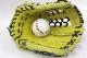 ハイゴールド 軟式グローブ OKG-9008 Rイエロー 外野手用 己極ASシリーズ 学生野球対応