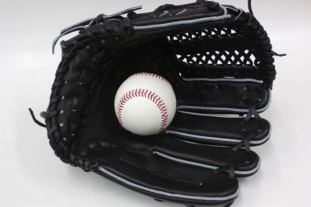 送料無料 訳あり KSG-L7 その1 久保田スラッガー 硬式グローブ オールラウンド ブラック×ブラック紐 オールラウンド向け 定番中の定番グラブ ピッチャーから外野まで 高校野球対応 一般用 学生用