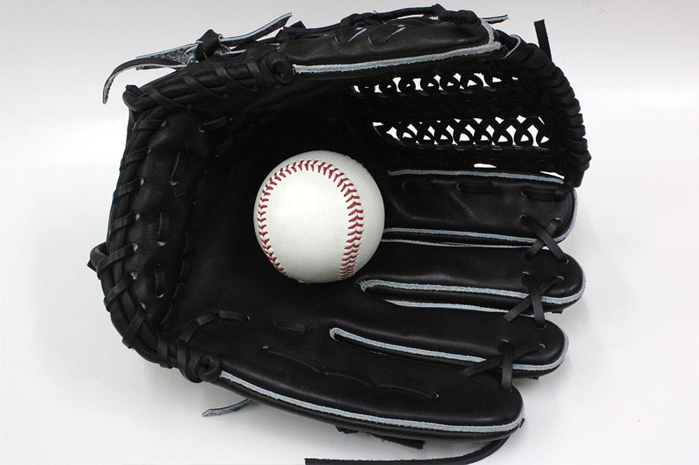 送料無料 訳あり KSG-L7 その2 久保田スラッガー 硬式グローブ オールラウンド ブラック×ブラック紐 オールラウンド向け 定番中の定番グラブ ピッチャーから外野まで 高校野球対応 一般用 学生用