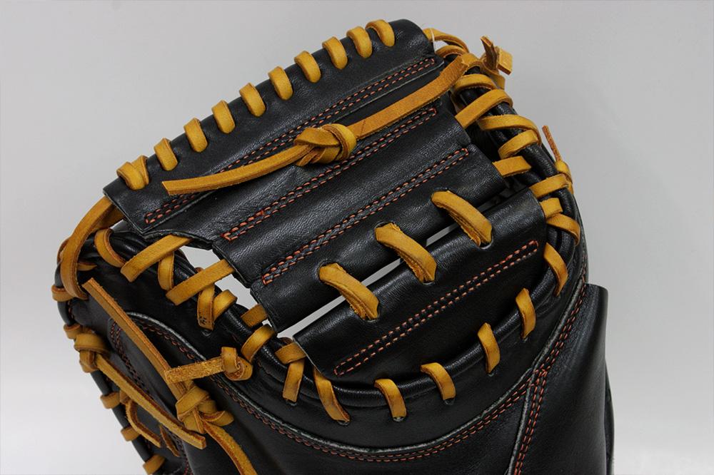ハイゴールド 軟式用キャッチャーミット OKG-633M ブラック 己極軟式シリーズ 学生野球対応