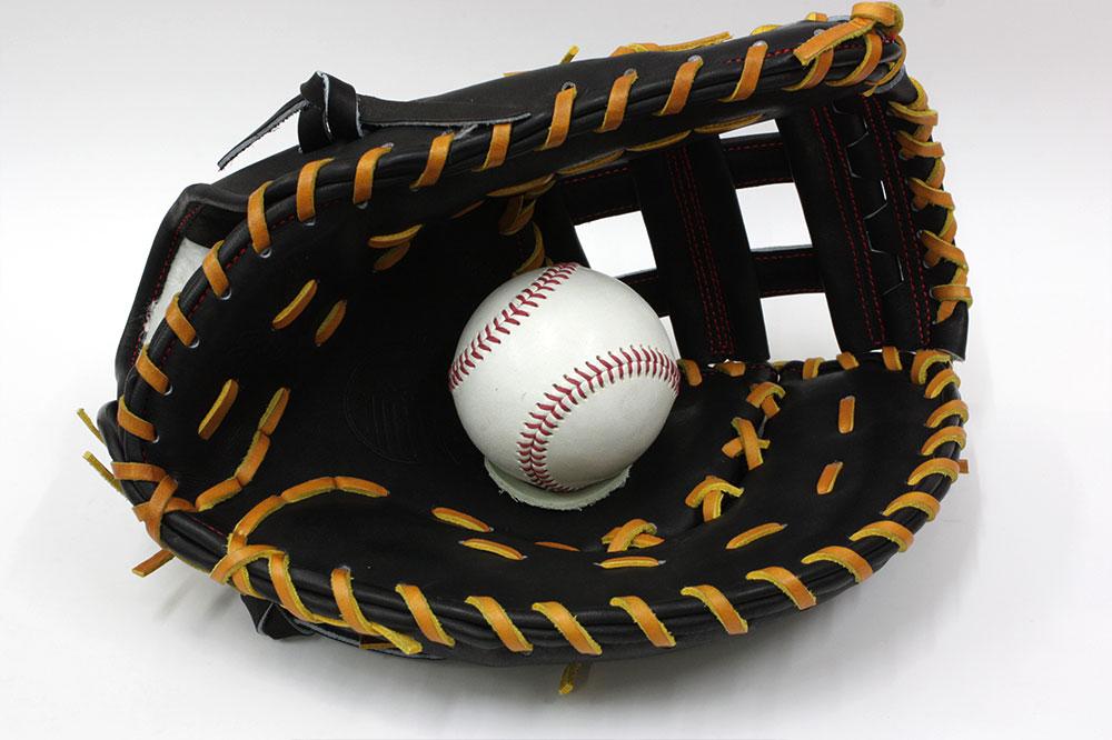 送料無料 久保田スラッガー 硬式 ファーストミット FP-35 ブラック 高校野球対応 甲子園 一般用 学生用 プレゼント 野球用品 GTK