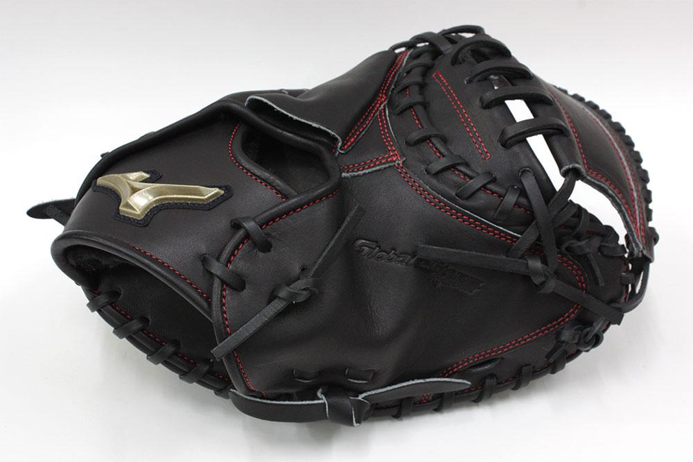 少年軟式用 ミズノ キャッチャー用 1AJCY20100 ブラック 炭谷モデル グローバルエリートRGブランドアンバサダーセレクション 野球 子供 GTK