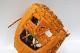 送料無料 久保田スラッガー 軟式 グローブ オーダー L7S3 W-53 K23ラベル KSオレンジ×ブラック ショート・サード用 湯もみ型付け券&ランドリー袋付き
