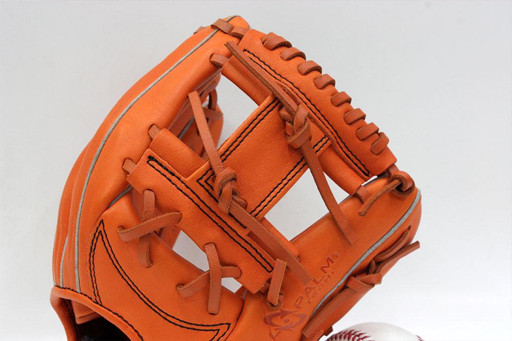 ローリングス GJ8HH1102 オレンジ 右投げ用 少年軟式用 HOH サイズM 身長130〜145cm向【次世代軟式ボール対応グラブ】