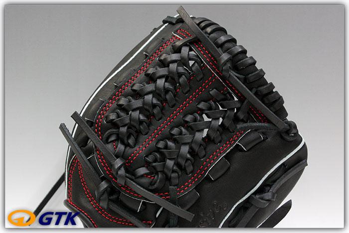 久保田スラッガー KSN-J2 ブラック 少年軟式用グラブ ジュニア用では小さ目サイズモデル 低学年向けのオールラウンドモデル【グローブ 野球 子供 軟式 型付け無料 GTK】