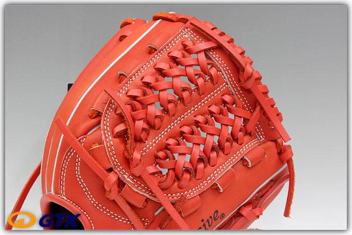 久保田スラッガー KSN-J2 Fオレンジ 少年軟式用グラブ ジュニア用では小さ目サイズモデル 低学年向けのオールラウンドモデル【グローブ 野球 子供 軟式 型付け無料 GTK】
