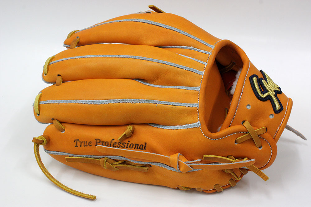 送料無料 訳あり KSG-AR3 DPオレンジ×タン紐 刻印のカスレや汚れ有り 久保田スラッガー 硬式グローブ 内野手 K7ラベル 内野手用 高校野球対応