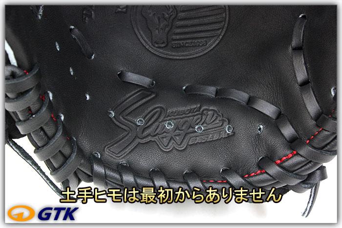 久保田スラッガー KSN-J3 ブラック 少年軟式用グラブ ジュニア用では大き目サイズモデル 外野対応のオールラウンドモデル【グローブ 野球 子供 軟式 型付け無料 GTK】