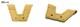 メール便送料無料 GTKオリジナル Vウェブ W-5やW-29などHウェブ系をV字化するパーツ GTK-W-V 装着すると今流行のウェブに大変身します