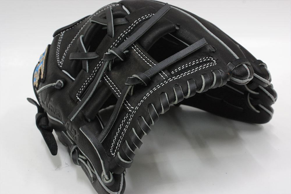 ハイゴールド 2021年NEWモデル 少年軟式用 RKG-1925 ブラック サイズM-L 4年生〜6年生向け ルーキーズ