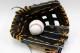 久保田スラッガー 硬式グローブ 外野用 KSG-SPS ブラック 硬式外野手用グラブ しっかり掴めるポケットと真っすぐの背面がGOOD