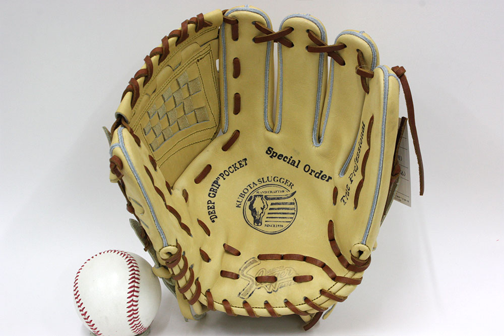 送料無料 久保田スラッガー 硬式グローブ 内野手 限定モデル KSG-AR1型 W-51ウェブ トレンチカラー 二遊間向け 使いやすいサイズ 高校野球対応 一般用 学生用
