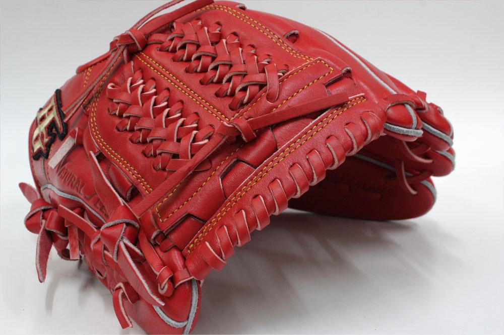 ハイゴールド 軟式用グラブ OKG-6506 SRオレンジ ショート用 己極 グローブ 野球 軟式 学生野球対応