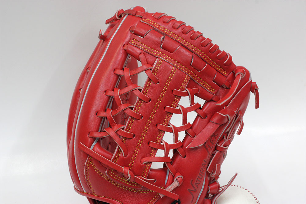 ハイゴールド 限定軟式用グラブ OKG-6508 SRオレンジ 外野手用 己極 グローブ 野球 軟式 学生野球対応