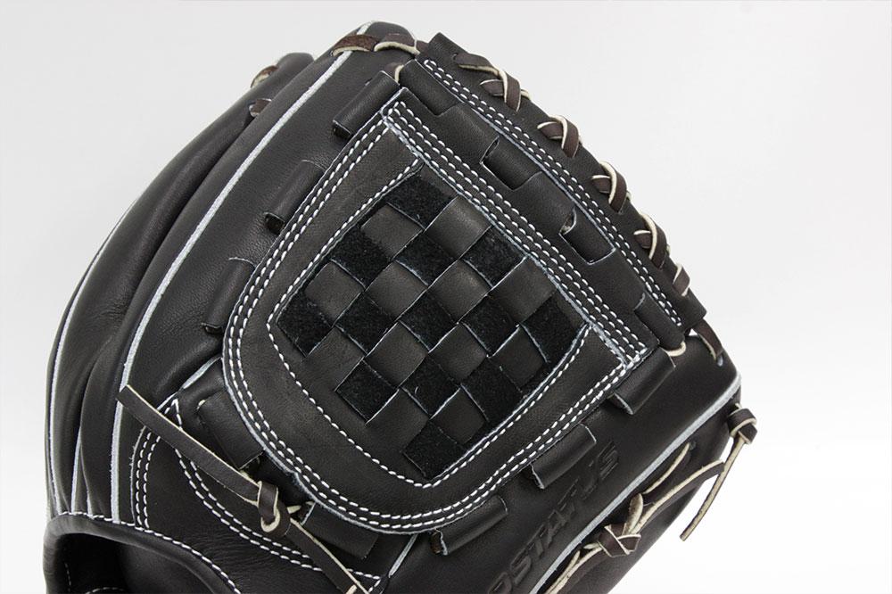 送料無料 ゼット プロステイタス BRGB30956 名手源田モデル ブラック×ブラウン(1937)一般軟式用 ショート用グラブ サイズ4 革質最高のゼットをおすすめします